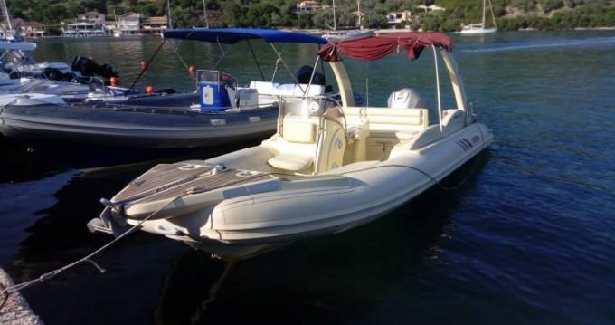 Rib 750 between personal and professional Lefkada (Island)