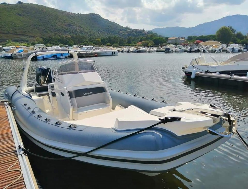 Hire RIB with or without skipper Lomac Saint-Florent