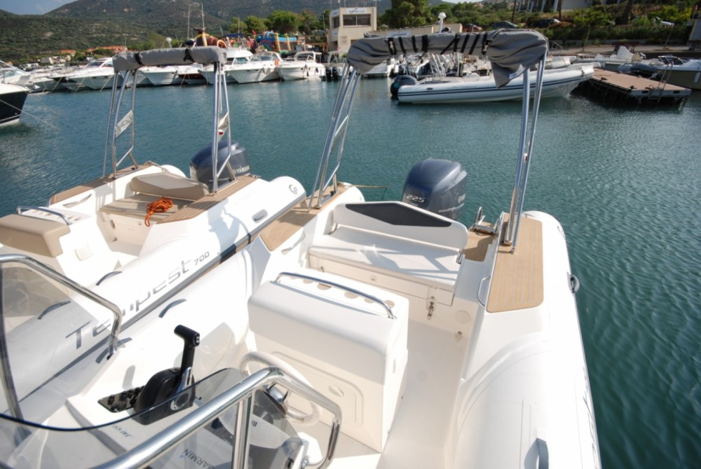 Boat rental Algajola cheap Tempest 700