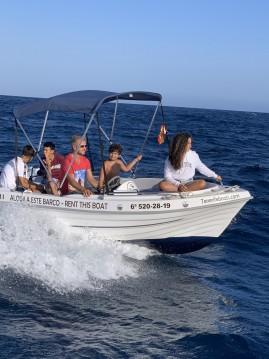 Boat rental Dipol D-400 F1RST in Costa Adeje on Samboat