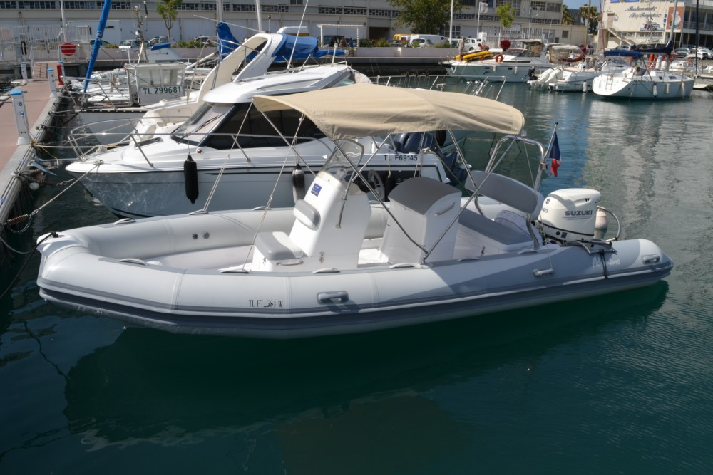 Adventure VESTA 650 between personal and professional Toulon