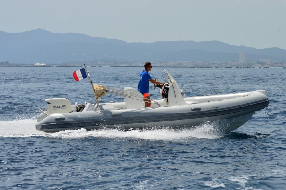 Rental RIB in Toulon - Adventure VESTA 650