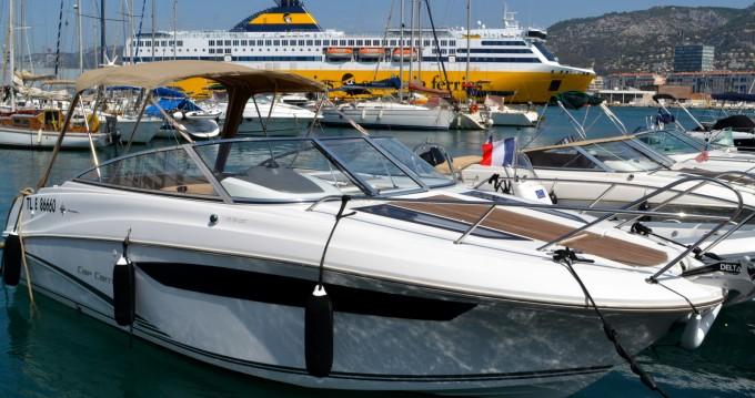 Rental yacht Toulon - Jeanneau Cap Camarat 7.5 DC on SamBoat