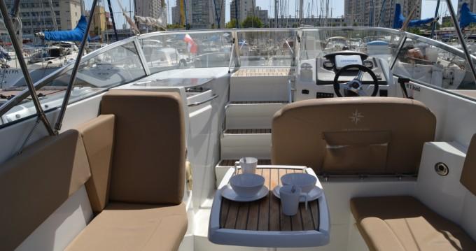 Rental Motorboat in Toulon - Jeanneau Cap Camarat 7.5 DC
