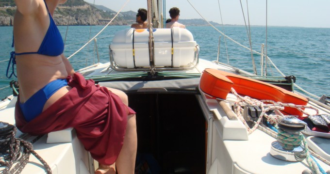 Hire Sailboat with or without skipper Bénéteau Castelldefels