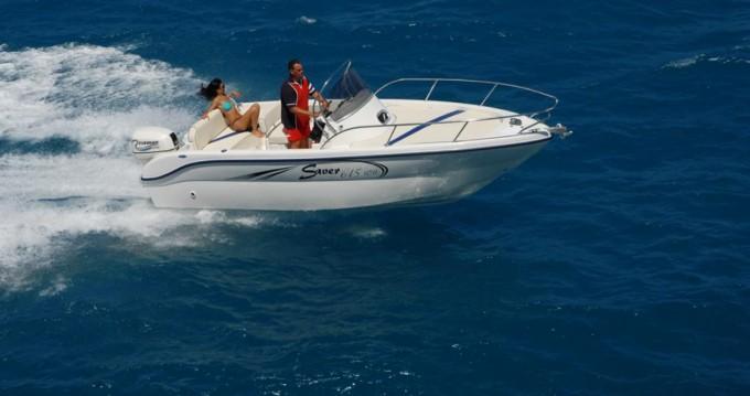 Boat rental Saver Saver 615 WA in La Spezia on Samboat