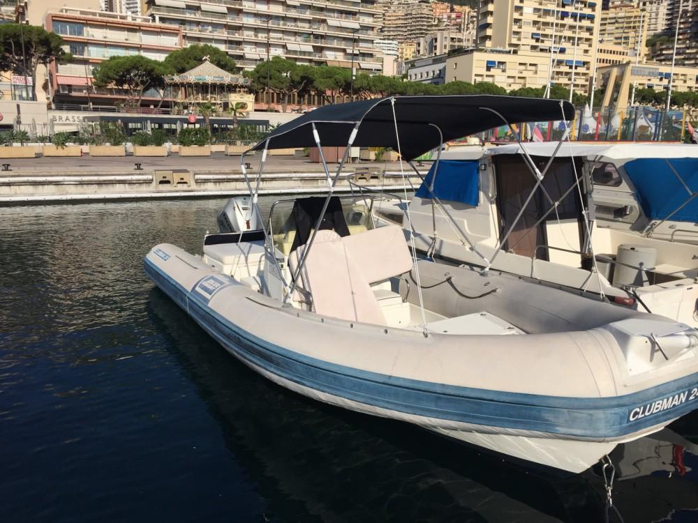Joker Boat Clubman 24 between personal and professional Monaco