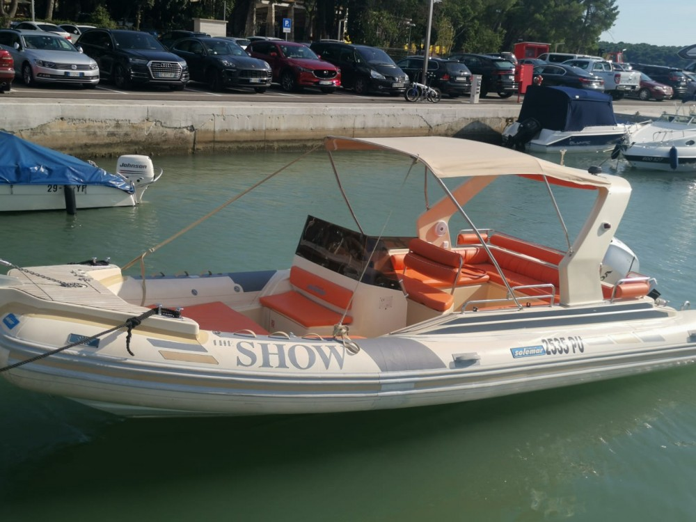 Hire RIB with or without skipper Solemar Medulin