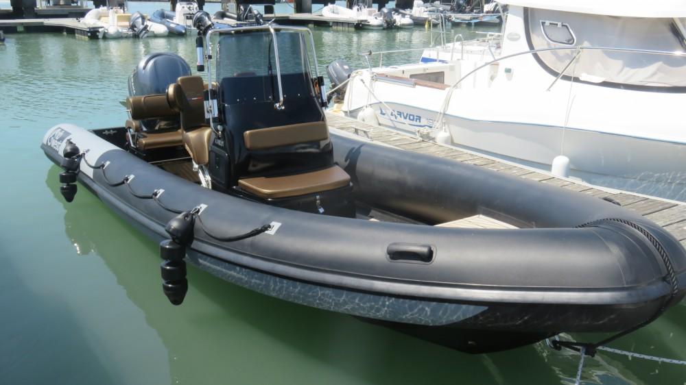 Rental yacht Quiberon - Ribwest 6.99 on SamBoat