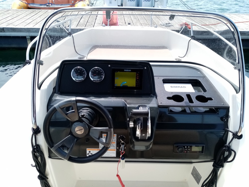 Boat rental Pula cheap 605 Active Open