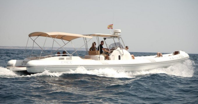 Hire RIB with or without skipper Sacs Palma de Mallorca