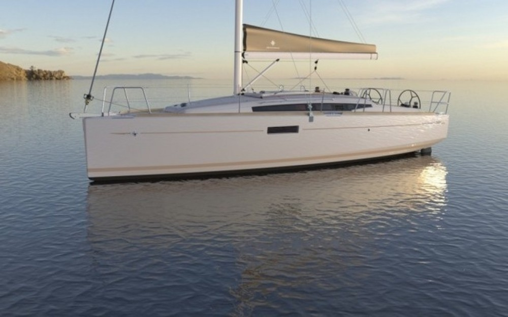 Jeanneau Sun Odyssey 349 QR between personal and professional Arzon