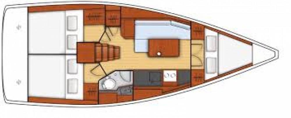 Rental yacht Arzon - Bénéteau Oceanis 35.1 on SamBoat