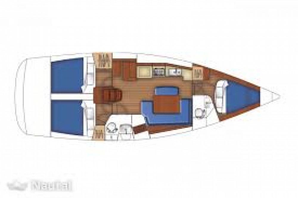 Rental yacht Arzon - Bénéteau oceanis 40 Q on SamBoat