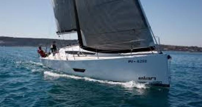 Elan Elan 400 S between personal and professional Port du Crouesty
