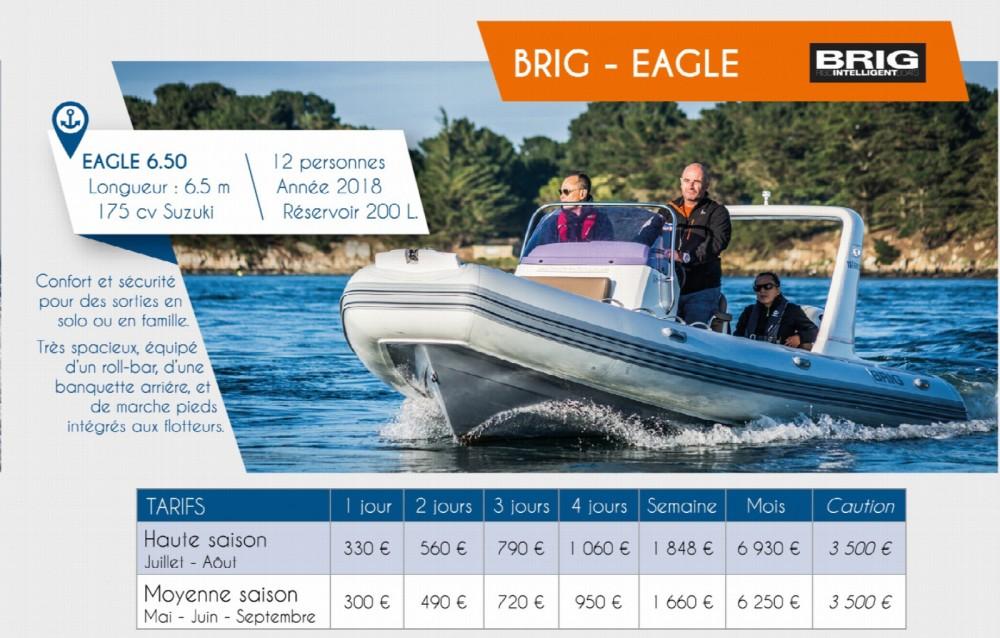 Rental RIB in Arzon - Brig Eagle 650