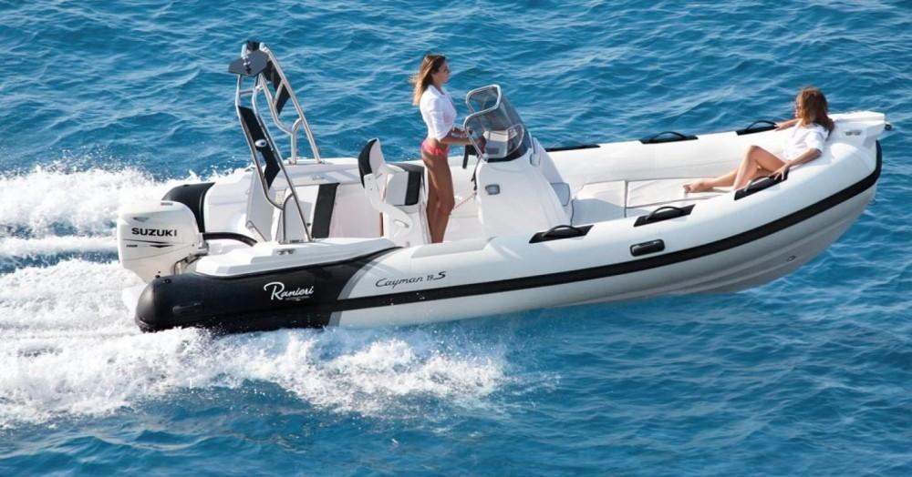 Rental RIB in Arzon - Ranieri Cayman 19 Sport