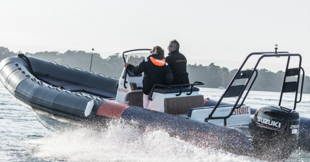 Hire RIB with or without skipper Vanguard Marine Arzon