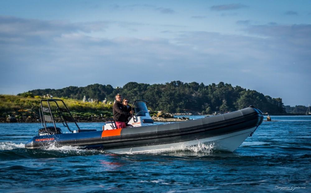 Boat rental Vanguard Marine DR 760 Family in Arzon on Samboat