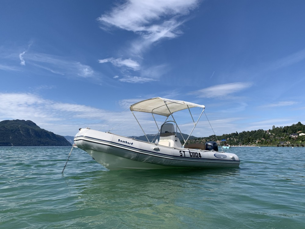 Hire Motorboat with or without skipper Bombard Aix-les-Bains
