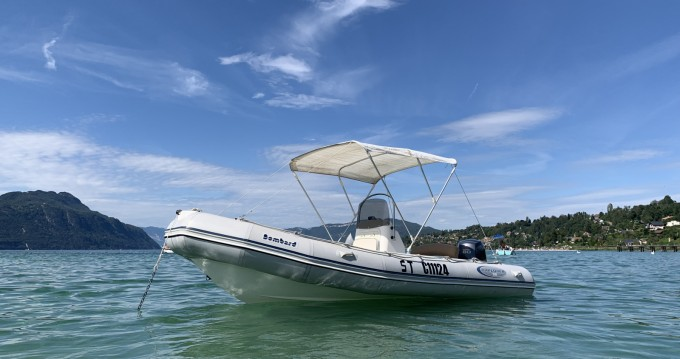 Hire RIB with or without skipper Bombard Aix-les-Bains