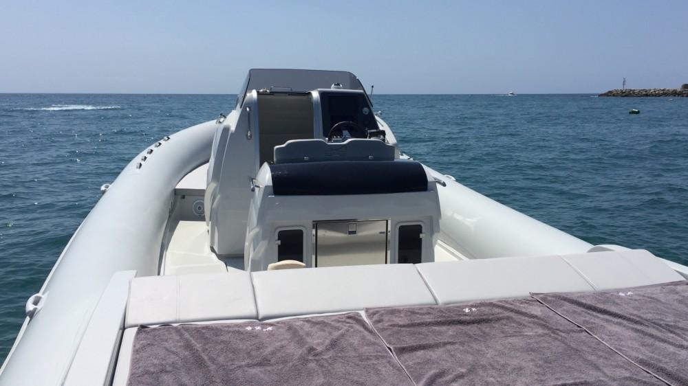 Boat rental San Felice Circeo cheap Capri 34