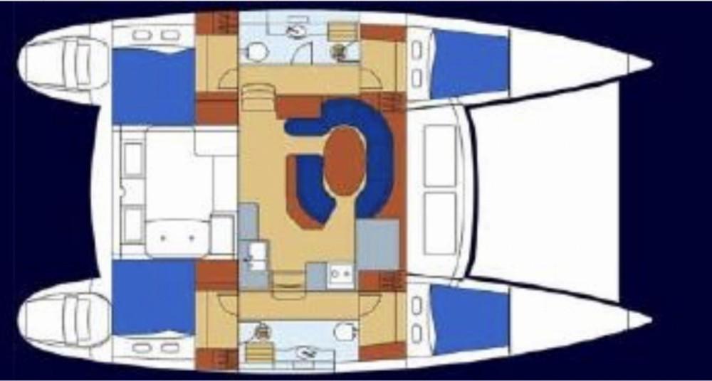 Rental yacht Split - Lagoon Lagoon 410 S2 on SamBoat