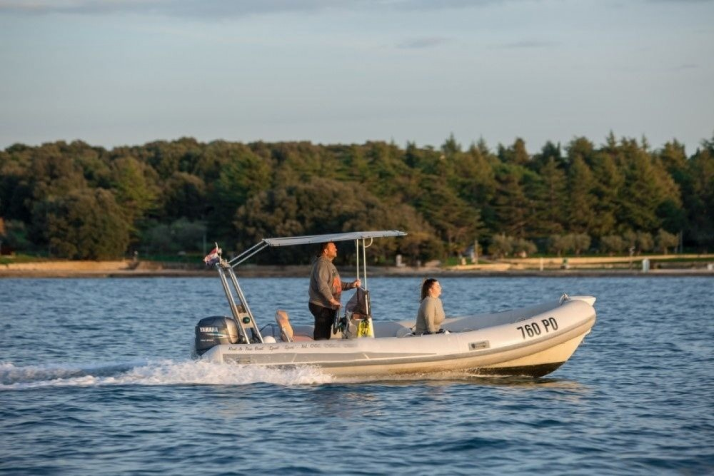 Boat rental Vrsar cheap STINGHER 550
