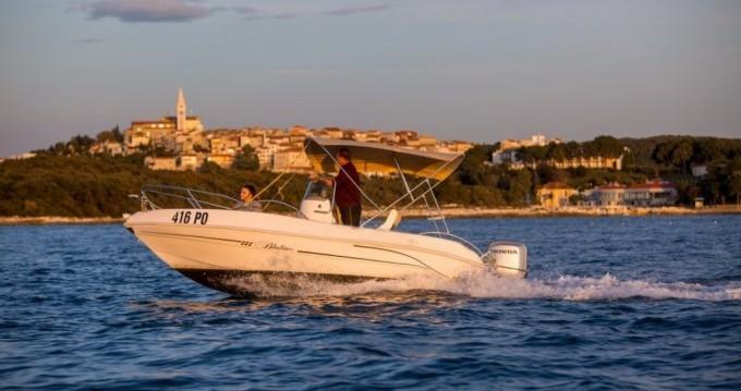 Rental Motorboat in Vrsar-Orsera - Bluline Bluline 19
