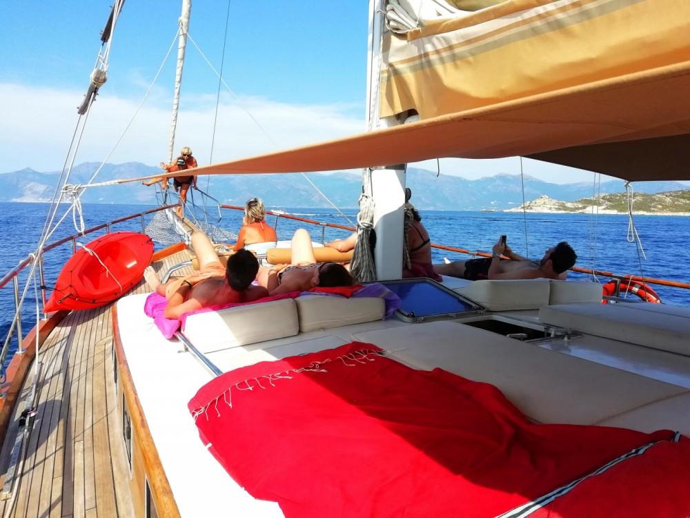 Rental yacht Saint-Florent - Bois Type Caïque on SamBoat