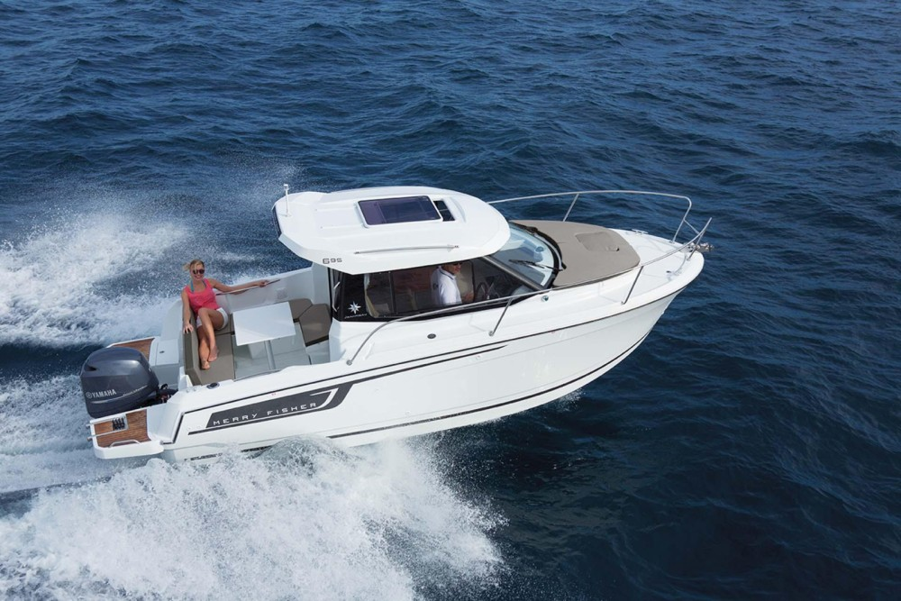 Boat rental Marseille cheap Merry Fisher 795
