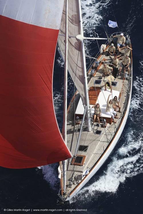Rental yacht Lorient - SLOOP BERMUDIEN CLASSIC LAURENT GILES MONOTYPE N°553 on SamBoat