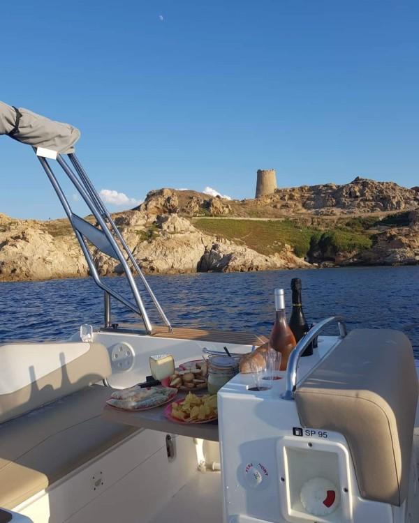 Rental RIB in Algajola - Capelli Tempest 700 luxe