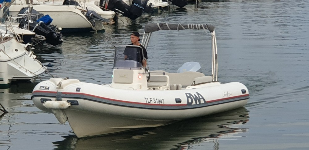 Hire RIB with or without skipper Bwa Hyères
