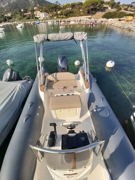 Boat rental Algajola cheap Tempest 650 luxe