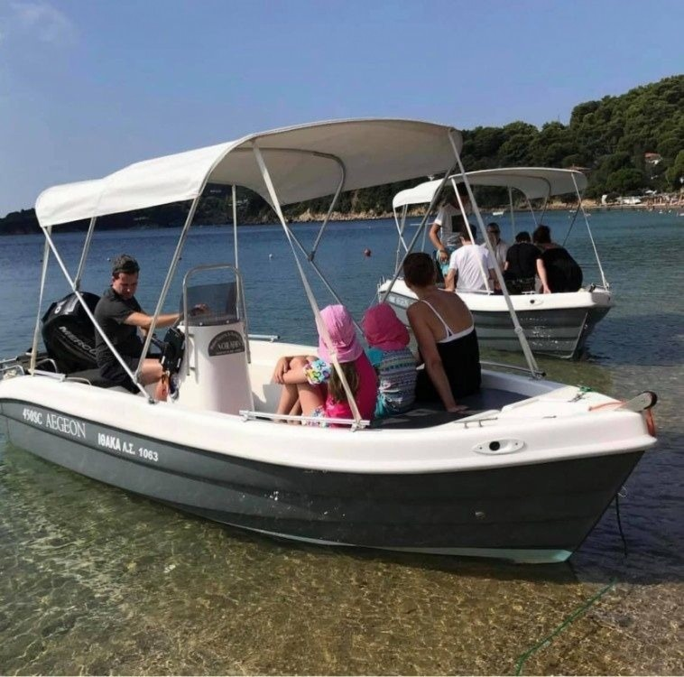 Hire Motorboat with or without skipper Zaggas Marine  Thessaly and Central Greece