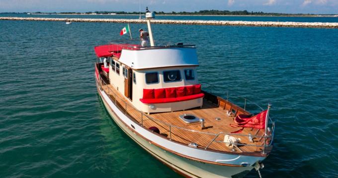 Boat rental Trogir cheap TRAWLER