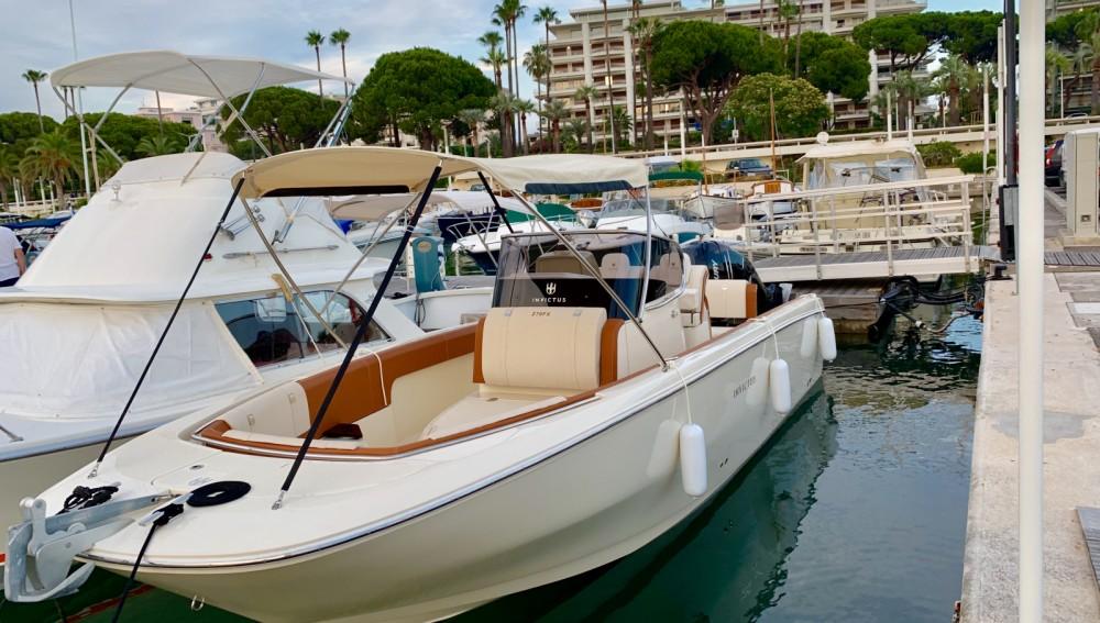 Boat rental Cannes cheap Invictus 270 FX