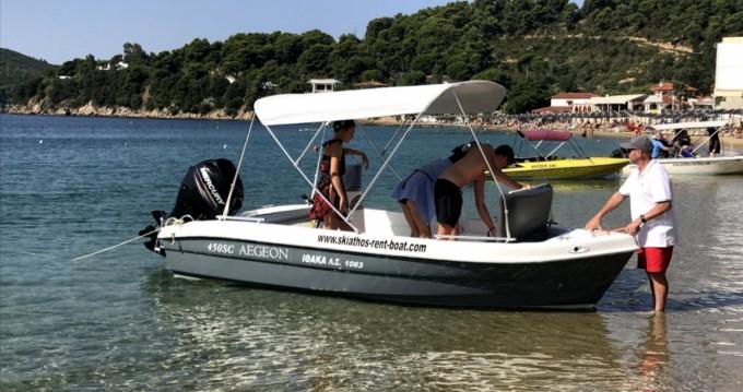 Boat rental Zaggas Marine  Aegeon  in Skiathos on Samboat
