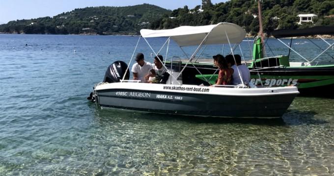 Rent a Zaggas Marine  Aegeon  Skiathos