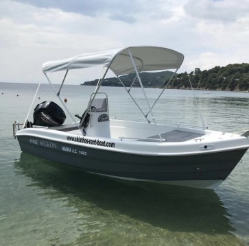 Hire Motorboat with or without skipper Zaggas Marine  Skiathos