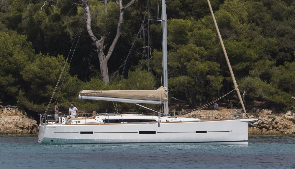 Rental yacht Cogolin - Dufour Dufour 460 Grand Large on SamBoat