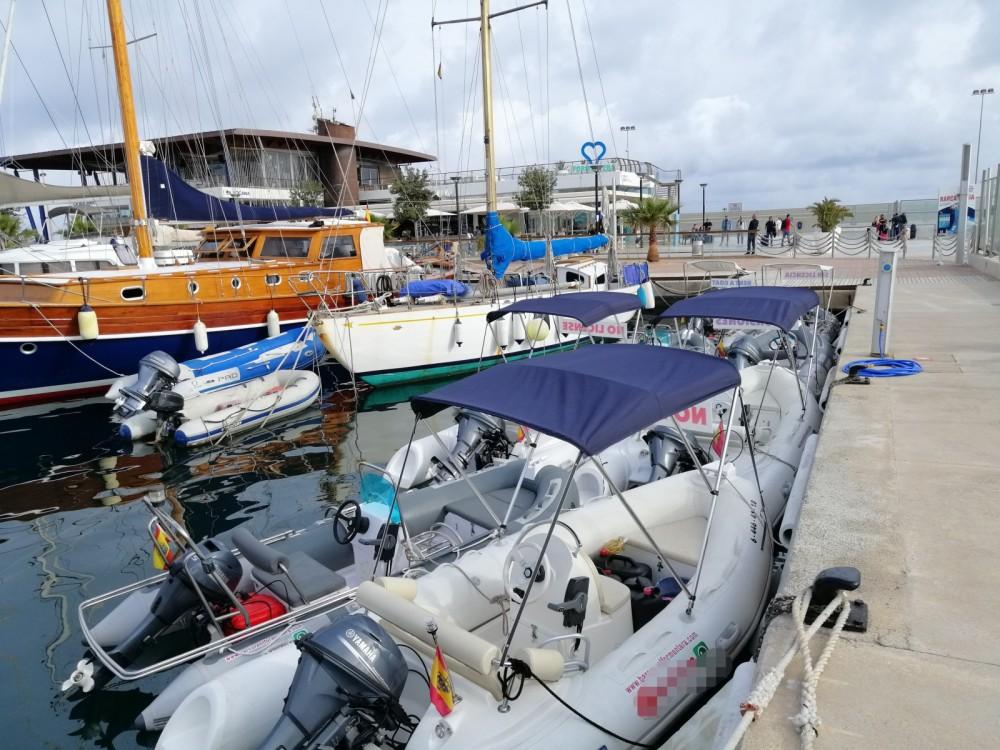 Boat rental navilux rib 3,90 in Formentera on Samboat