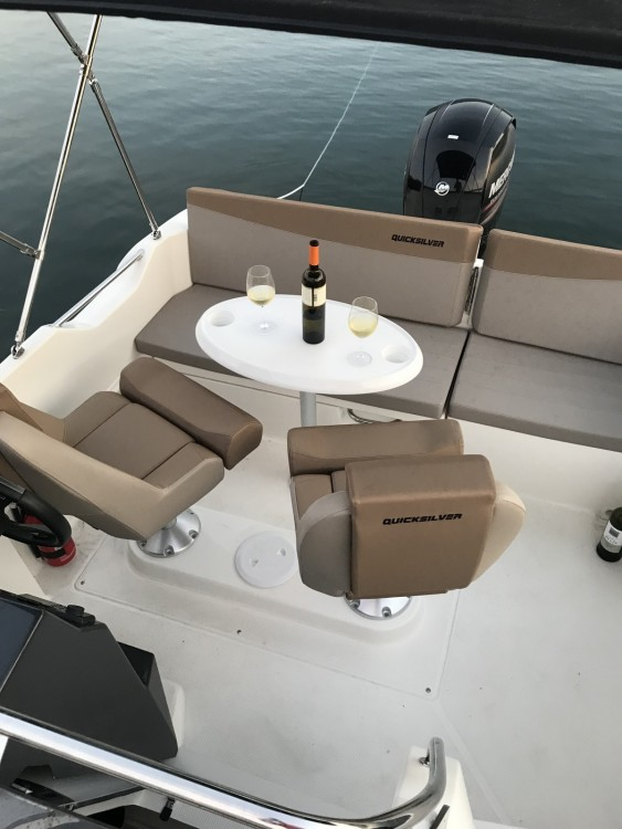 Rental yacht Vinišće - Quicksilver Activ 605 Sundeck on SamBoat