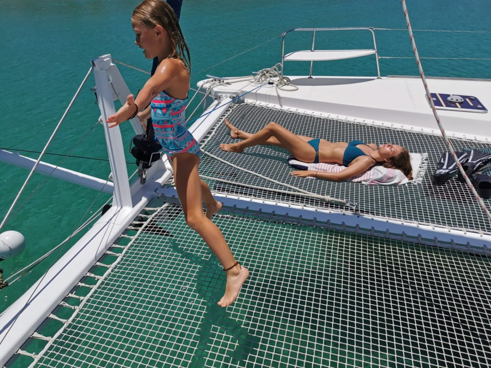 Catamaran for rent Le Marin at the best price