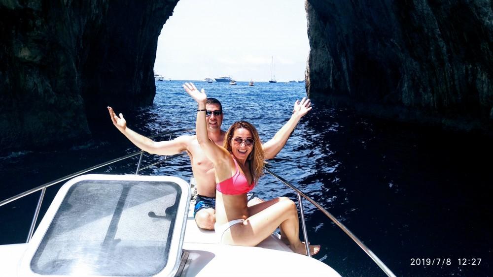 Boat rental Positano cheap Laver 30