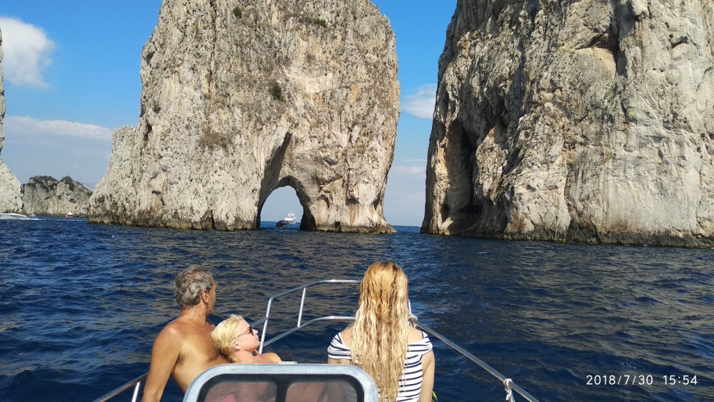 Hire Motor boat with or without skipper Atlantic Positano