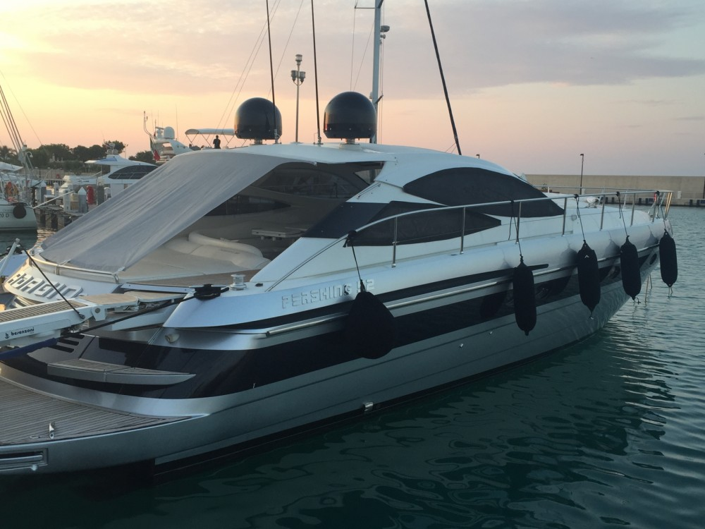 Pershing 52 between personal and professional Polignano a Mare