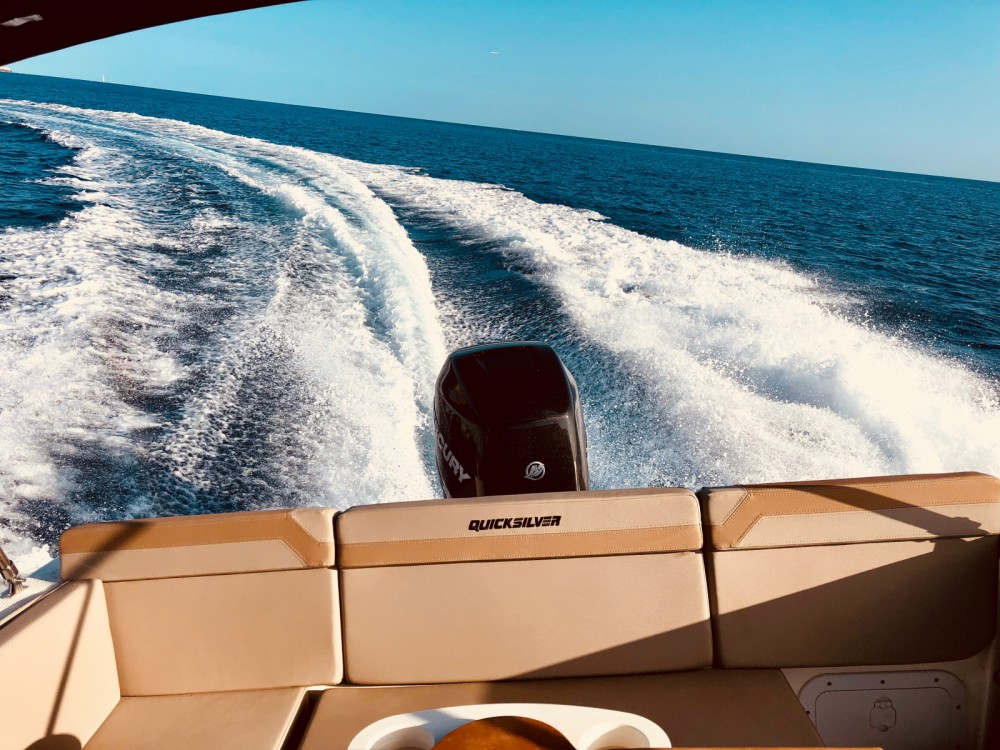 Rental Motorboat in Maó - Quicksilver Activ 755 Sundeck