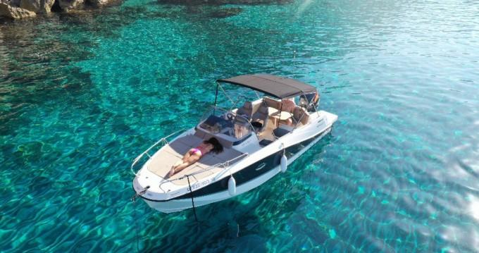 Boat rental Quicksilver Activ 755 Sundeck in Mahon Port on Samboat